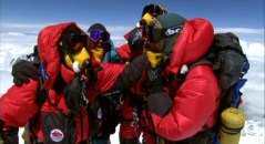 18. Erik, Eric, Luis, adn Jeff on the summit of Everest.