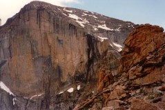 7. The Diamond, Longs Peak, Rocky Mountain Nat'l Park
