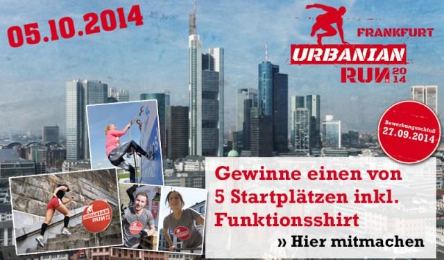 Bild Gewinnspiel Urbanian Run Frankfurt