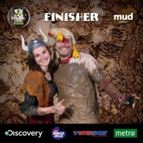 Strong Viking Obstacle Run 2015, Mud Edition, Finisher