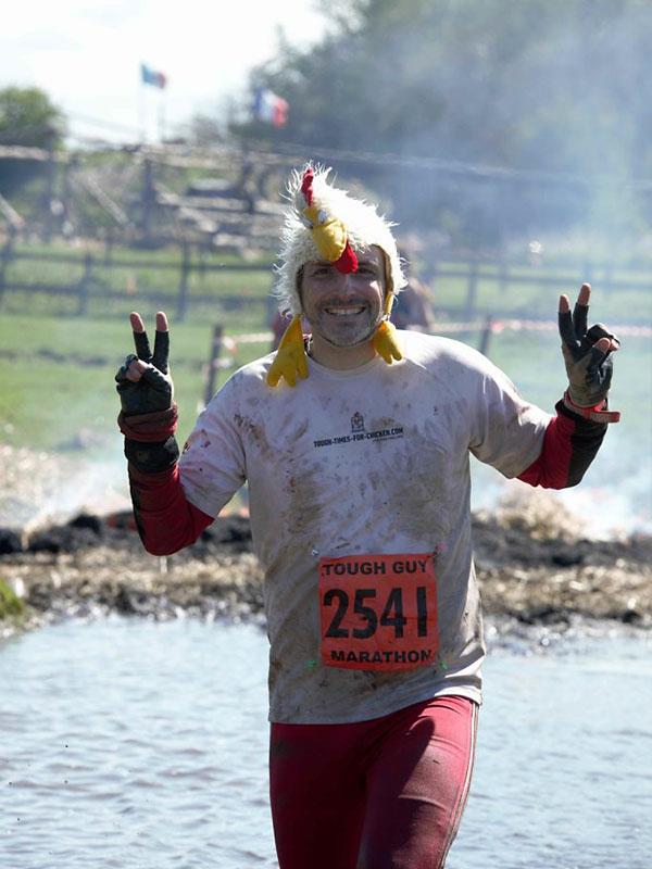 Tough Guy Marathon 2015, Tough Chicken Dead Leg Swamp