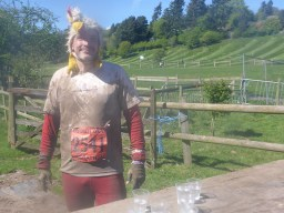 Tough Guy Marathon 2015, Tough Chicken Verpflegungsstation