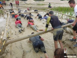 Mud Masters Obstacle Run 2015, Hindernis Mud Crawl