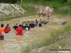 Mud Masters Obstacle Run 2015, Hindernis Mud Walk Start