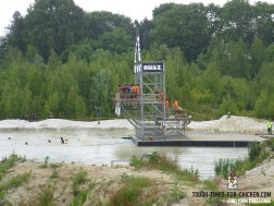 Mud Masters Obstacle Run 2015, Hindernis Splash Jump Seitenansicht