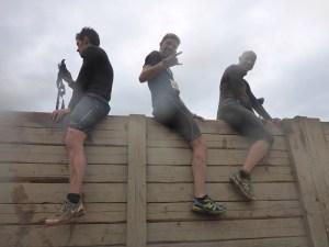 Tough Mudder NRW 2015, Hindernis Berlin Walls 1