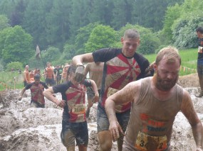 Tough Mudder NRW 2015, Hindernis Mud Mile 1