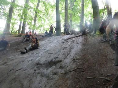 Tough Mudder NRW 2015, Hindernis Mud Mile 4