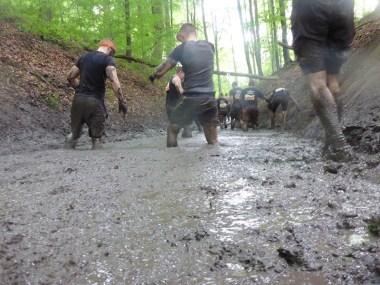 Tough Mudder NRW 2015, Hindernis Mud Mile 5