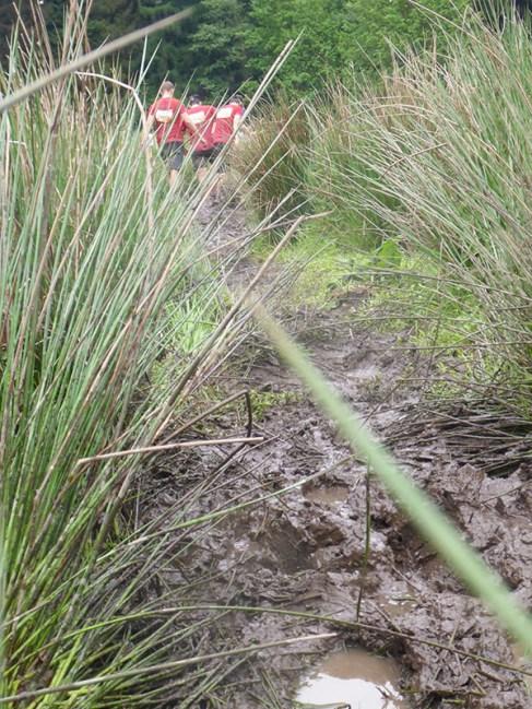 Tough Mudder NRW 2015, Hindernis Mud Mile