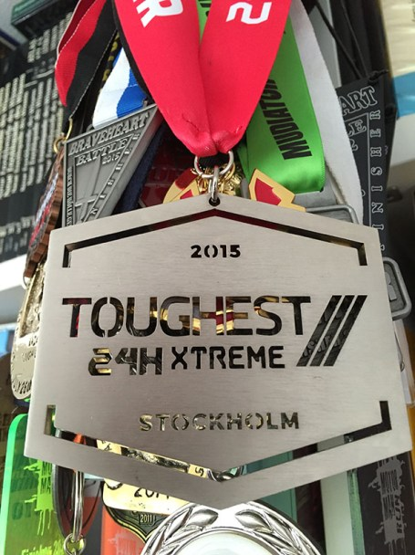 TOUGHEST 24H XTREME 2015, Finisher Medaille