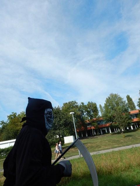 Hindernislauf Baden-Württemberg, Motorman Run 2015, Gevatter Tod läuft mit