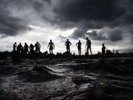 Hindernislauf Belgien, Battle of Thor 2015, Hindernis Waterfest Blick zurück
