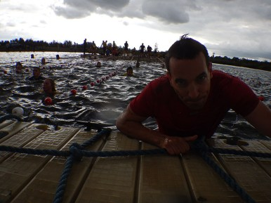 Hindernislauf Belgien, Battle of Thor 2015, Hindernis Waterfest geschafft