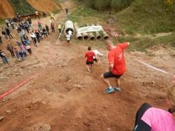 Hindernislauf Bayern, Runterra 2015, Erdhügel Downhill