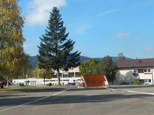 Hindernislauf Baden-Württemberg, Rothaus Mudiator Run 2015, Hindernis Wand