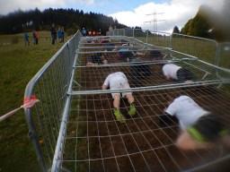 Hindernislauf Baden-Württemberg, Rothaus Mudiator Run 2015, Kriechhindernis bergauf