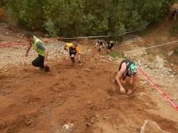 Hindernislauf Bayern, Runterra 2015, Strecke Uphill