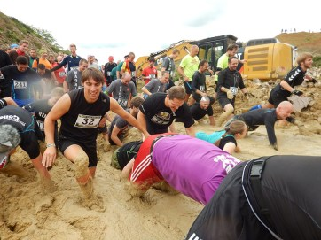 Hindernislauf Hessen, Bad Wolf Dirt Run 2015, Hindernis Moon