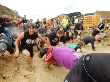 Hindernislauf Hessen, Bad Wolf Dirt Run 2015, Hindernis Moon