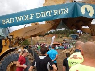 Hindernislauf Hessen, Bad Wolf Dirt Run 2015, Startbereich