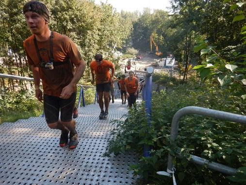 Hindernislauf Nordrhein-Westfalen, XLETIX Challenge Ruhrgebiet 2015, Aufstieg zur Schurenbachhalde