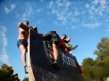 Hindernislauf Nordrhein-Westfalen, XLETIX Challenge Ruhrgebiet 2015, Hindernis Halfpipe