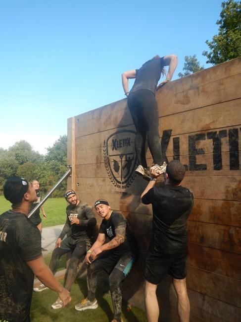 Hindernislauf Nordrhein-Westfalen, XLETIX Challenge Ruhrgebiet 2015, Hindernis Wonder Wall 3.0