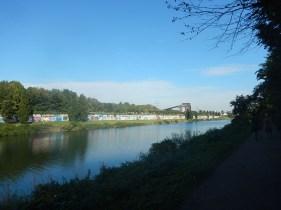 Hindernislauf Nordrhein-Westfalen, XLETIX Challenge Ruhrgebiet 2015, Strecke Rhein-Herne-Kanal
