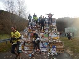 Hindernislauf Thüringen, Getting-Tough - The Race 2015, Rudolstadt, Saisonfinale Papierpyramide