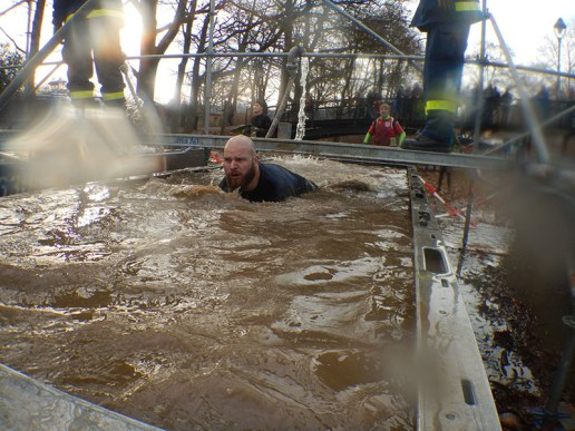Hindernislauf Thüringen, Getting-Tough - The Race 2015, Rudolstadt, Saisonfinale Wasserbecken