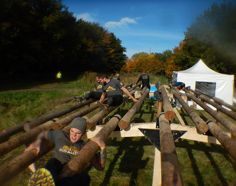 Strong Viking Obstacle Run brother edition 2015, Hindernis Weaver