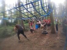 Hindernislauf England, Rat Race Dirty Weekend 2016, Hindernis Mudstacle