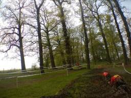 Hindernislauf England, Rat Race Dirty Weekend 2016, Hindernis War Zone Netz