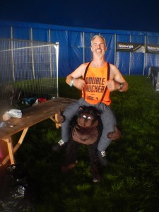 Hindernislauf England, Rat Race Dirty Weekend 2016, Walking Ape