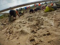 Hindernislauf-Deutschland, Mud-Masters-24-Stunden-2016, Hindernis-Mud-Crawl-Sandgrube