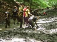 Tough Mudder, Hindernislauf NRW, Berg und Talfahrt Matsch