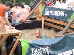 Tough Mudder, Hindernislauf NRW, Hindernis Arctic Enema 2.0 Pool