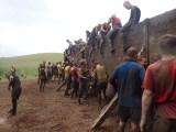 Tough Mudder, Hindernislauf NRW, Hindernis Berlin Walls 2