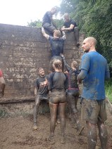 Tough Mudder, Hindernislauf NRW, Hindernis Berlin Walls