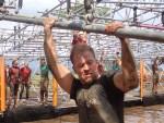 Tough Mudder, Hindernislauf NRW, Hindernis Funky Monkey 2.0 geschafft