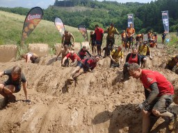 Tough Mudder, Hindernislauf NRW, Hindernis Mud Mile 2.0