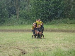 Tough Mudder, Hindernislauf NRW, Regen