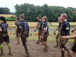 Tough Mudder, Hindernislauf NRW, Team Kelly