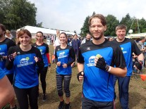 Tough Mudder, Hindernislauf NRW, Warm Up Team add2