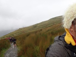 Rat Race Man vs. Mountain, Hindernislauf Wales, Uphill