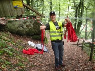 Wildsau Dirt Run, Hindernislauf Österreich, Rotes Bandel