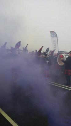 MacTuff, Hindernislauf Schottland, Start