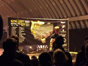Mud Masters Obstacle Run Night Shift, Hindernislauf Deutschland, Briefing vor dem Start