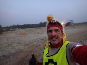 Mud Masters Obstacle Run Night Shift, Hindernislauf Deutschland, im Morgengrauen